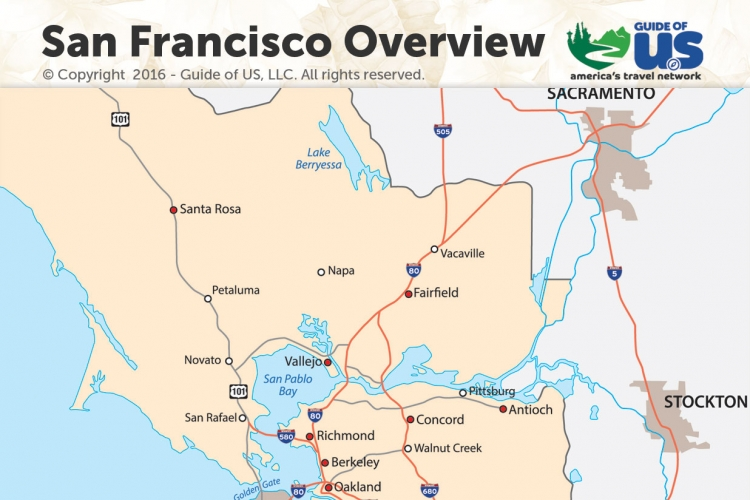 San Francisco California Maps