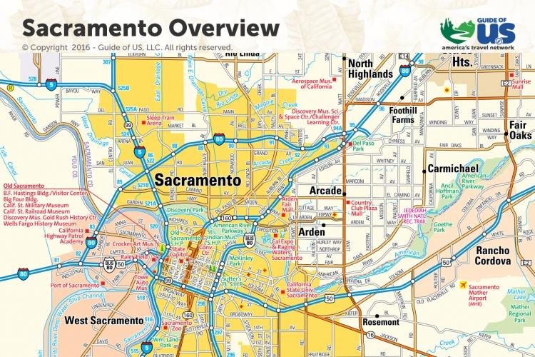 Northern California Maps