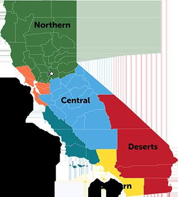 California Regions Guide
